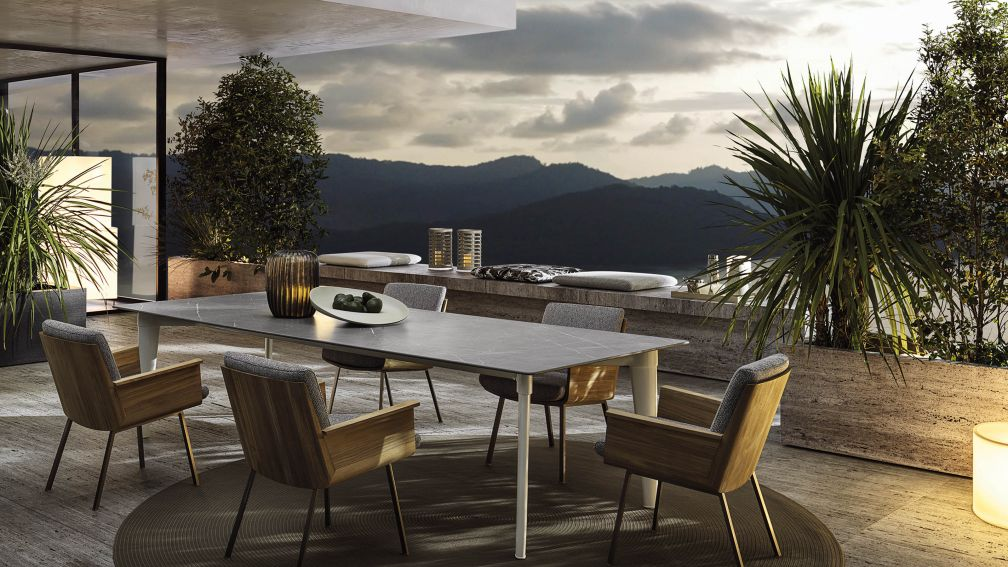 Minotti Outdoor – Harmonie als Strategie